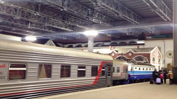 Посадочная платформа Казанского вокзала
